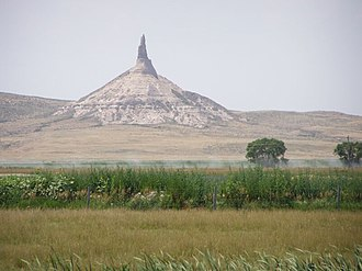 National Register of Historic Places listings in Nebraska - Chimney Rock National Historic Site Morrill County