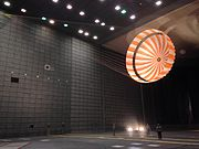 PIA19405-MarsInSightLander-Assembly-ParachuteTest-2015February