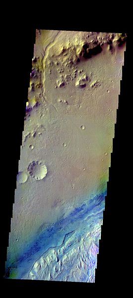 File:PIA21196 - Gale Crater - False Color.jpg
