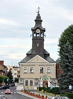 Przeworsk Market Town in Subcarpathian Voivodeship, Poland