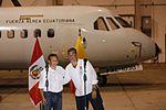 PRESIDENTE DE ECUADOR RAFAEL CORREA AGRADECE ENORME GESTO DE SOLIDARIDAD DE GOBIERNO Y PUEBLO PERUANO (26688648335).jpg