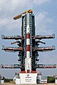PSLV C50 at second launch pad front view.jpg