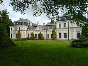 House of Sieniawski - Image: Pałac w Sieniawie