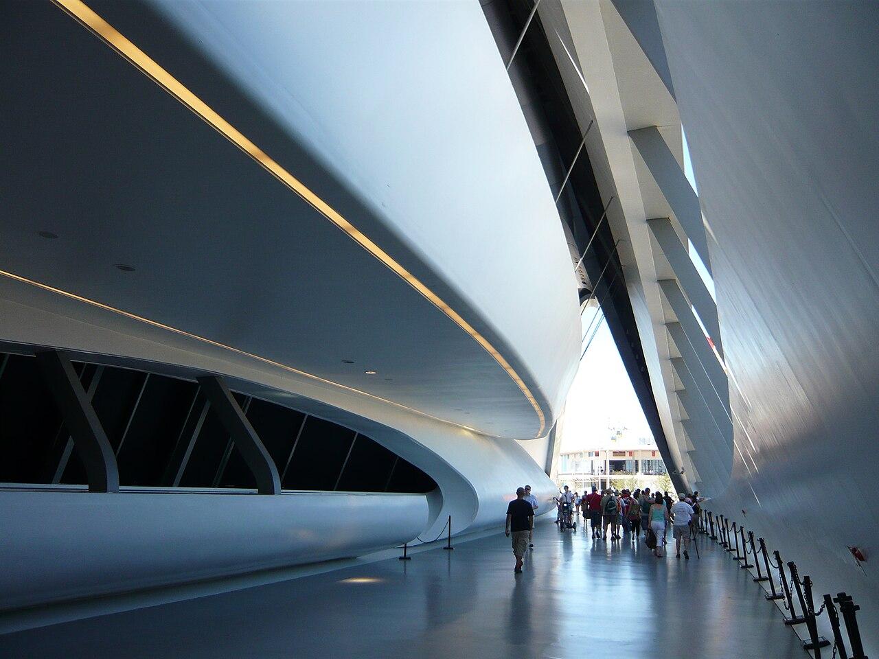 Zaha hadid for Arquitectura zaha hadid