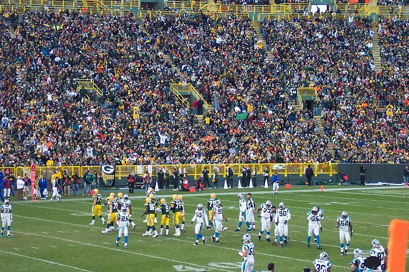 File:Packers at Panthers 2007.jpg