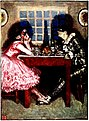 Pagliacci - 'Columbine and Harlequin at supper', by Byam Shaw.jpg