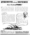 Pakistan defense savings certificates and stamps advertisement, Pakistan Quarterly (1950).png