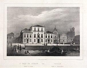 Palais Depuis le Débarcadère