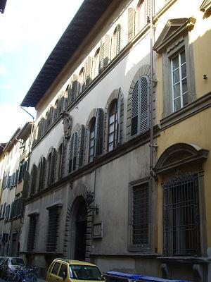Palazzo Rosselli del Turco - Image: Palazzo rosselli del turco, esterno