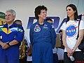 Palco Principal do evento Domingo com o Astronauta, evento comemorativo dos 10 anos do primeiro brasileiro no espaço, o astronauta bauruense Marcos Pontes. Em destaque o astronauta brasileiro e a astronau - panoramio (1).jpg