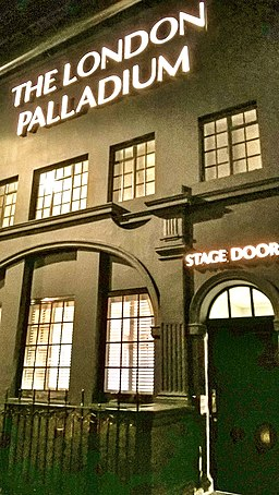 Palladium stage door