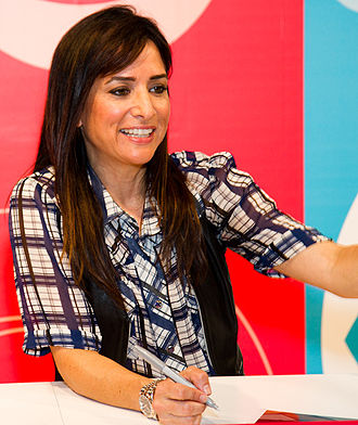 Pamela Adlon - Adlon at the 2011 San Diego Comic-Con.