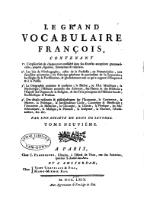 Panckoucke - Le grand vocabulaire françois, 1769, T9.djvu