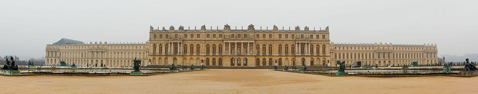 Reggia di versailles wikipedia - Photos du chateau de versailles et ses jardins ...
