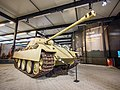 Panzer V Ausf.G Panther of the German 107th Panzer Brigade at the Overloon War Museum, was knocked out by the 2nd Battallion, East Yorkshire Regiment, on 13 October 1944 at Overloon foto1.jpg