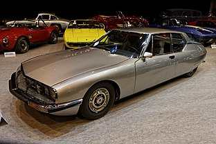 Paris - Retromobile 2014 - Citroën SM automatique - 1973 - 001.jpg