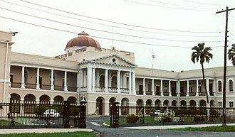 Politics of Guyana - Parliament of Guyana in Georgetown.