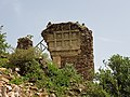 Part of the apse of the former Iyasus Church in Gorgora Nova, Amhara - 072018.jpg