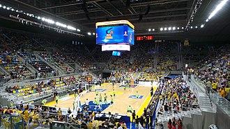 2015 Copa del Rey de Baloncesto - Gran Canaria Arena, court of the Copa del Rey and its draw