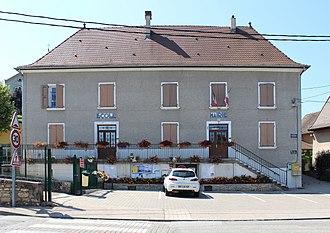 Arandon-Passins - The town hall of Passins
