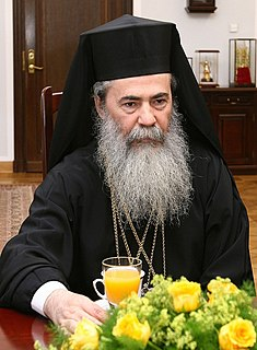 Greek Orthodox Patriarch of Jerusalem primate of the Eastern Orthodox Church in Jerusalem