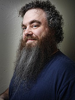 Photo portrait of Patrick Rothfuss by Kyle Cassidy