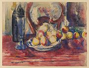 Paul Cézanne - Apples, Bottle and Chairback, Courtauld Gallery.jpg