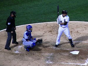 Chicago White Sox player Paul Konerko playing ...