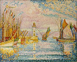 Paul Signac: Le Phare, Groix