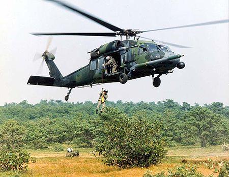 アメリカ空軍所属のHH-60G