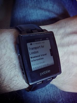 Pebble (watch) - Pebble Steel