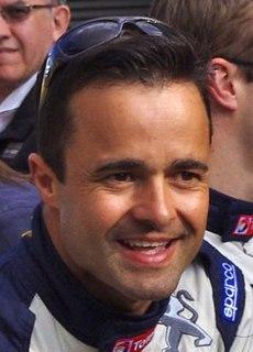 Pedro Lamy Portuguese racecar driver