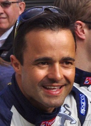 Pedro Lamy - Lamy at the 2011 24 Hours of Le Mans driver parade