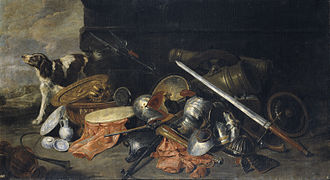 Pieter Boel - Arms and instruments of war