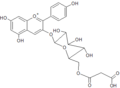 Pelargonidin 3-(6-malonyl-glucoside).png