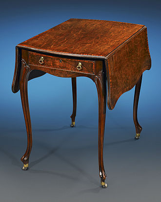 Thomas Chippendale - Pembroke Table by Chippendale for Paxton House, 1775