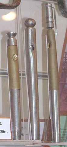 Schießkugelschreiber