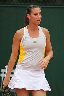 Flavia Pennetta Italian tennis player