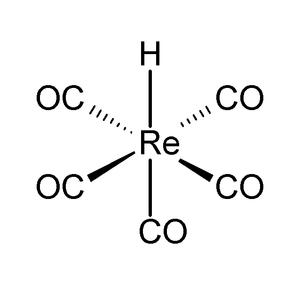 Pentacarbonylhydridorhenium - Image: Pentacarbonylhydrido rhenium