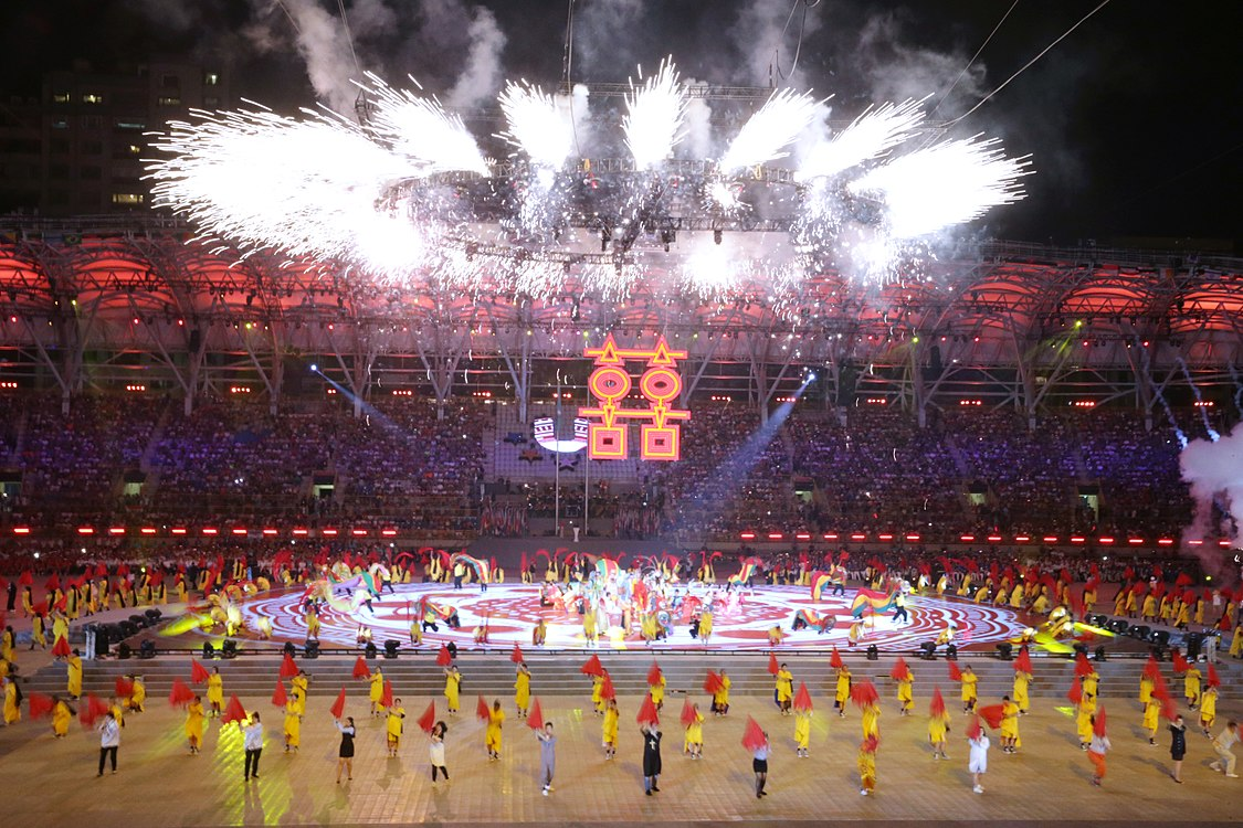 Performance on the Opening ceremony of the 2017 Summer Universiade (6).jpg