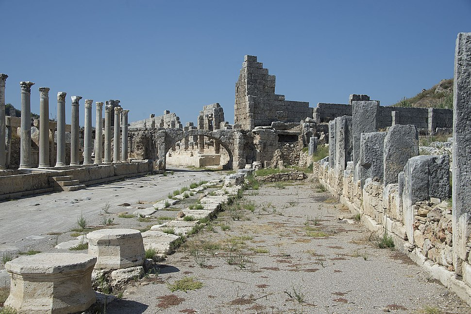 Perge Towards West Gate 9543