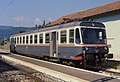 Peschici - stazione ferroviaria - automotrice FG ALe 80.03 - 28-06-1986.jpg