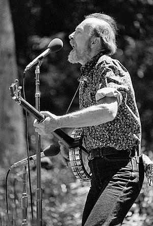 Pete Seeger - Pete Seeger, Stern Grove, San Francisco CA  8/6/78