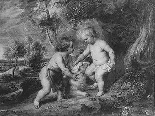 Jesus und Johannes in jugendlichem Alter (Schule)