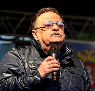 Petr Spálený Czech musician most known as a singer