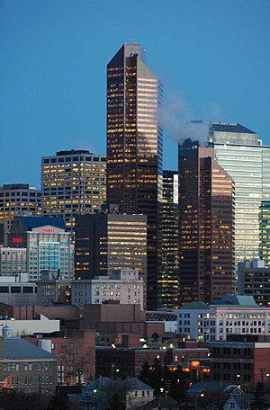 Calgary is the largest metropolis in the Calga...