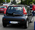 Peugeot 107 70 Urban Move (Facelift) – Heckansicht, 17. Juli 2011, Ratingen.jpg