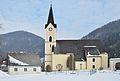 Pfarrkirche hl. Pankraz & former Mesnerhaus, St. Pankraz, Upper Austria.jpg