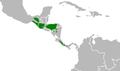 Pharomachrus mocinno map.png