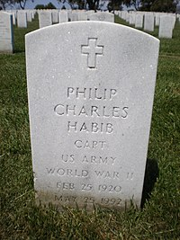 Philip Charles Habib headstone.JPG
